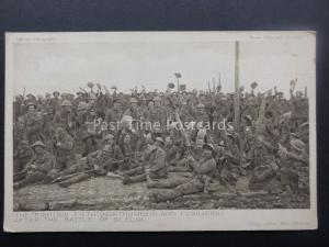 WW1 THE FIGHTING FIFTH NORTHUMBERLAND FUSILIERS c1914-18 Postcard by Daily Mail