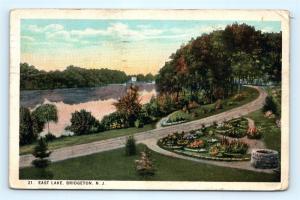 Postcard NJ Bridgeton East Lake c1926 View K12