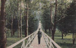 SAN FRANCISCO , California, 1900-10s ; The Board Walk , Presidio
