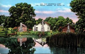 Texas Huntsville General Sam Houston's Home
