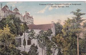 EUREKA SPRINGS, Arkansas, 1900-1910s; Crescent College, Catholic Church