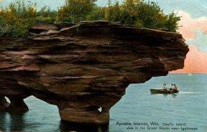 WI - Apostle Islands. Devil's Island, The Green Room