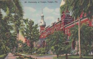 Florida Tampa The University Of Tampa Curteich