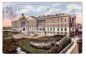 State House, Boston Massachusetts, Reichner Bros, Spruce Lake, Spilt Ring Can...