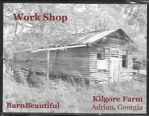Georgia, Adrain, Kilgore Farm, Work Shop, unused