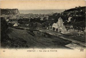 CPA ETRETAT-Vue prise du Petit-Val (347728)