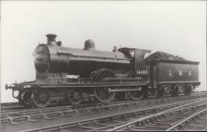 Train Railway Railroad Locomotive Engine LMS 14498