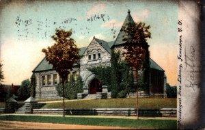 New York Jamestown Prendergast Free Library 1908