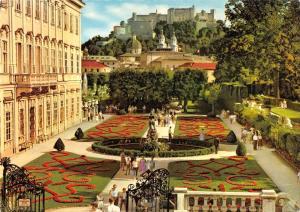 BR53241 Mozartstadt Salzburg mirabellgarten mit festung   Austria
