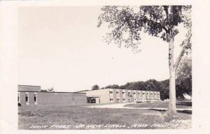 Iowa Iowa Falls Junior High School Real Photo RPPC