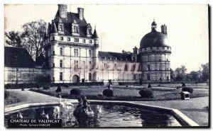 Old Postcard Chateau de Valencay