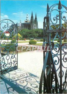Postcard Modern Praga The Cathedral St. Vitus to Manege