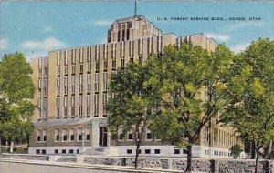 U S Forest Service Building Ogden Utah 1943