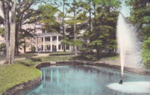 Glen Iris Inn Letchworth State Park Castile New York Handcolored Albertype