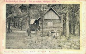 Czech Republic Z Radhostskych Beskyd Pod vrcholem Knehyne 02.82