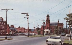 Broad Street , CLAREMONT , New Hampshire ,  50-60s
