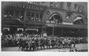 C-1910 Philadelphia Pennsylvania Street Scene RPPC Photo Postcard 10128
