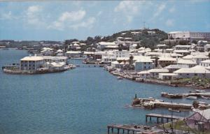 ST. GEORGE, Bermuda, 1940-1960's; View From East Of Town Of St,. George's