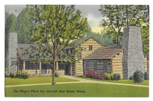 Lincoln's New Salem, Illinois to South Bend, Indiana, The Wagon Wheel Inn