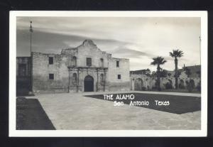 RPPC SAN ANTONIO TEXAS THE ALAMO VINTAGE REAL PHOTO POSTCARD