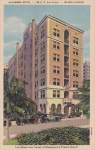 Florida Miami The Alhambra Hotel Curteich