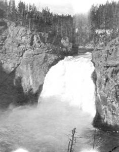 Real Photo, Yellowstone, c. 1920s, David Walker, signed