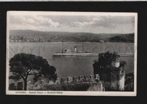 076941 TURKEY CONSTANTINOPLE Istanbul Rumeli Hisari Vintage PC