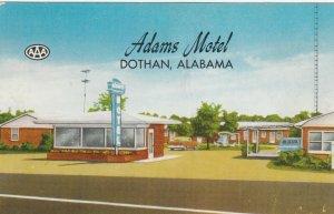 DOTHAN , Alabama , 40-50ss ; Adams Motel