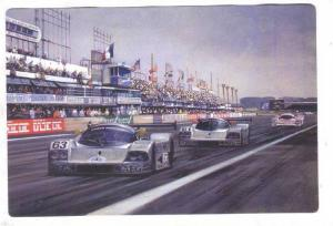 Racing postcard by Artist Michael TURNER, 1995 ; #5