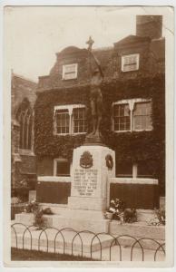 Kent; The War Memorial, Dover RP PPC 1926 PMK To Miss Ayton, Witley