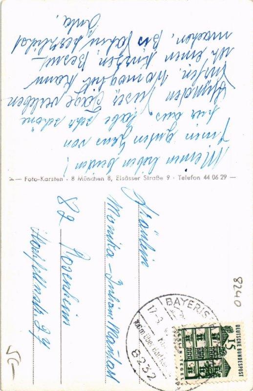 CPA AK OBERNAU b. BERCHTESGADEN Pfarramt GERMANY (970195)