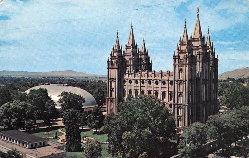 USA Utah Salt Lake City Temple Square 1963