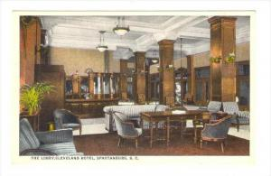 Lobby , Cleveland Hotel, Spartanburg , South Carolina, 00-10s