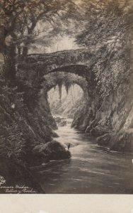 RP; Bettus-y-coed , Wales, United Kingdom, 00-10 ; Roman Bridge ; TUCK
