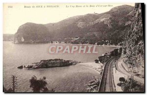 Old Postcard Route Nice Monaco Cape Roux and the Bay of Eze sur Mer