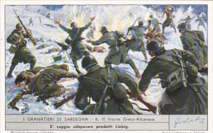 Liebei S1713 Sardinian Grenadiers No 6 Il fronte Greco-Albanese