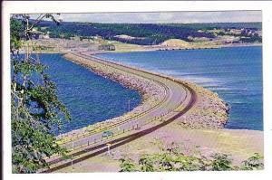 The Road to the Isle Causeway, Cape Breton Nova Scotia