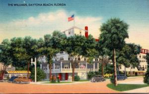 Florida Daytona Beach The Williams Hotel 1944