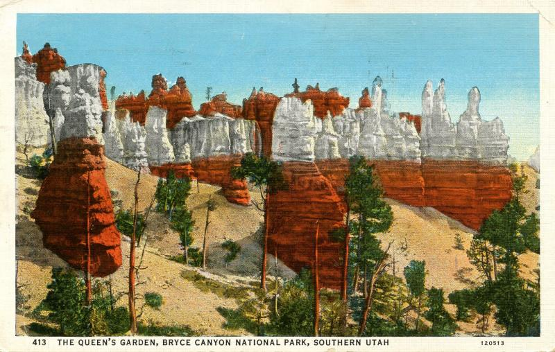 UT - Bryce Canyon National Park. The Queen's Garden