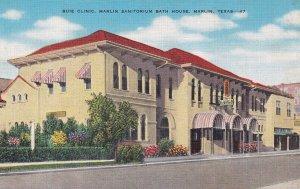 MARLIN, Texas, 1930-1940's; Buie Clinic, Marlin Sanitorium Bath House