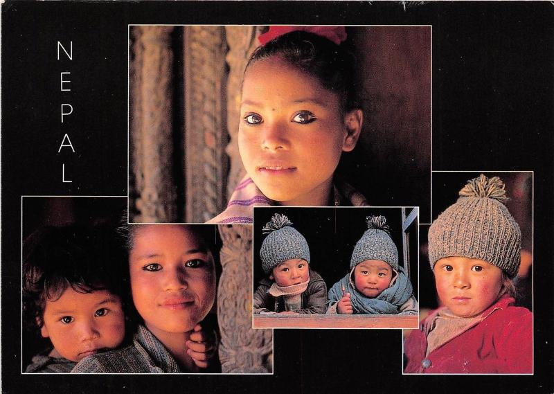 BR7282 Himalaya The Face of nepal vary greatly  nepal