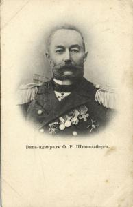 Russian Vice Admiral Baron Olaf von Stackelberg in Uniform (1908)