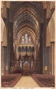 Salisbury Cathedral, Nave looking East, Interior