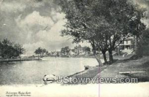 Wesley Lake, Massachusetts Post Card    ;     Wesley Lake, Mass Wesley Lake M...