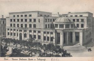 Bari Nuovo Palazzo Poste e Telegrafi Italy Postcard