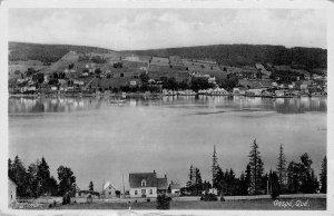 GASPE Quebec, Canada Harbor Scene Vintage Postcard ca 1920s