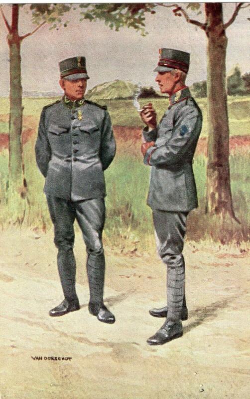 Military Grenadiers en Jagers Van Oorschot 01.52