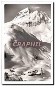 Old Postcard Wintersportplatz Vorarlberg