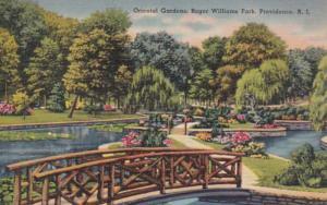 Rhode Island Providence Roger Williams Park Oriental Gardens