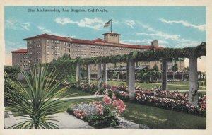 LOS ANGELES , California , 1910s ; The Ambassador